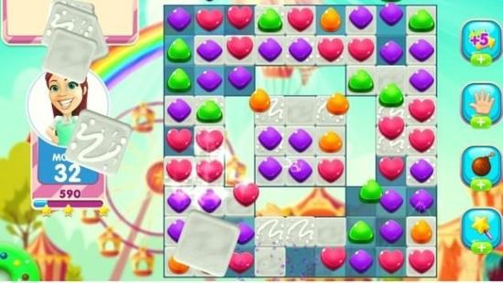 魔法糖果爆破游戏